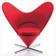 Статуэтка Heart Shaped Cone Chair , VITRA, Miniatures Collection фото 5
