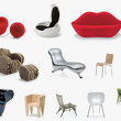 Статуэтка Heart Shaped Cone Chair , VITRA, Miniatures Collection фото 1