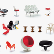 Статуэтка Heart Shaped Cone Chair , VITRA, Miniatures Collection фото 2