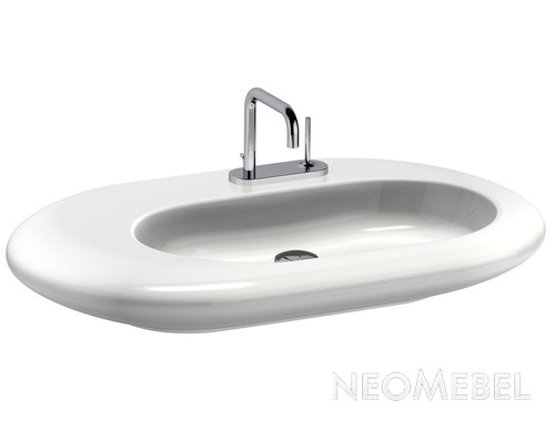 Раковина NATURAL ASYMMETRIC , IDEAL STANDARD - SimplyU, T0170xx