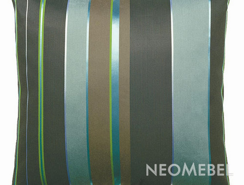 Подушка , VITRA, Repeat Classic Stripe peacock