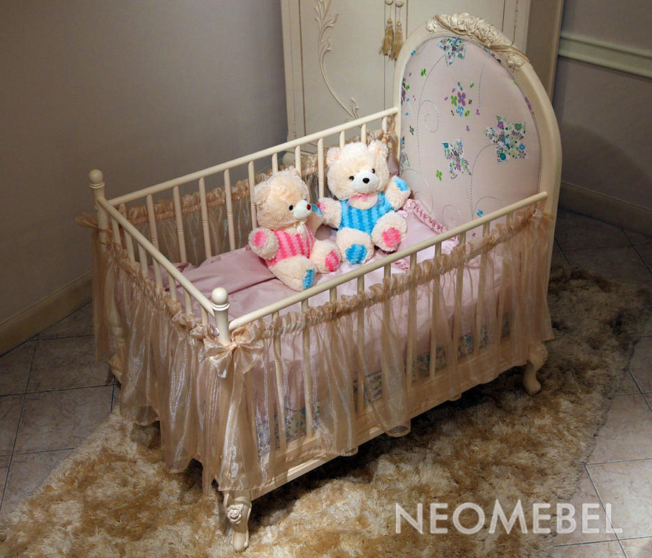 Детская кровать украсить своими руками
