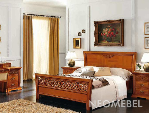 Кровать DECOR, CAMELGROUP - PLATINUM COLLECTION, 110LET.04NO