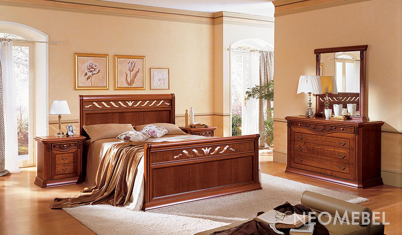 Schlafzimmer mit bett berbau