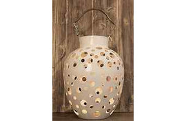 Подсвечник , белый, MIGANI - MIGANI HOME, BOU 0109731B Lantern all white