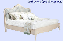 Кровать , BREVIO  SALOTTI - SILVANA, G311 bed finish wood U03 (without brown color) fabric B11
