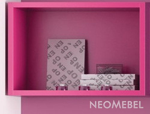 Полка , ROS - INFANTIL, 2440s, shelf, finished New Lac - Fucsia NI30