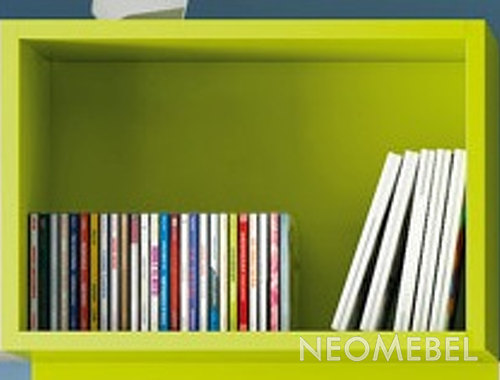 Полка , ROS - INFANTIL, 2440s, shelf, finished New Lac - pistacho NV10