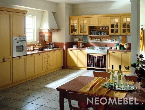 Кухня  модульная  Giallo  mais  ,  TOMASSI  CUCINE  -  PRIMAVERA
