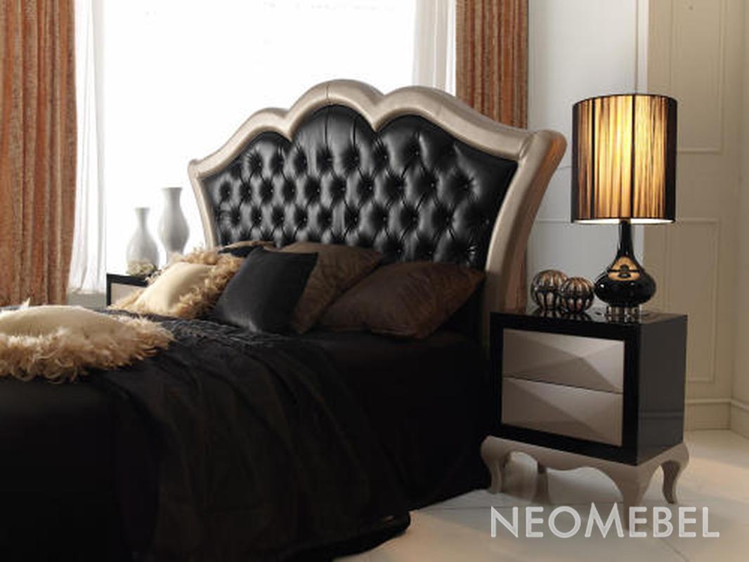 Как сделать кровать из кожи 165
